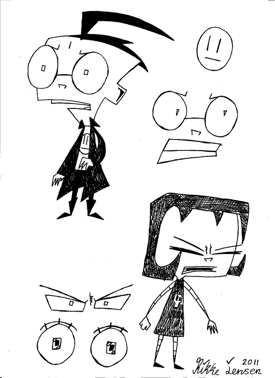 invader zim character by - photo #22