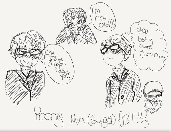 Yoongi Min by randomartperson96