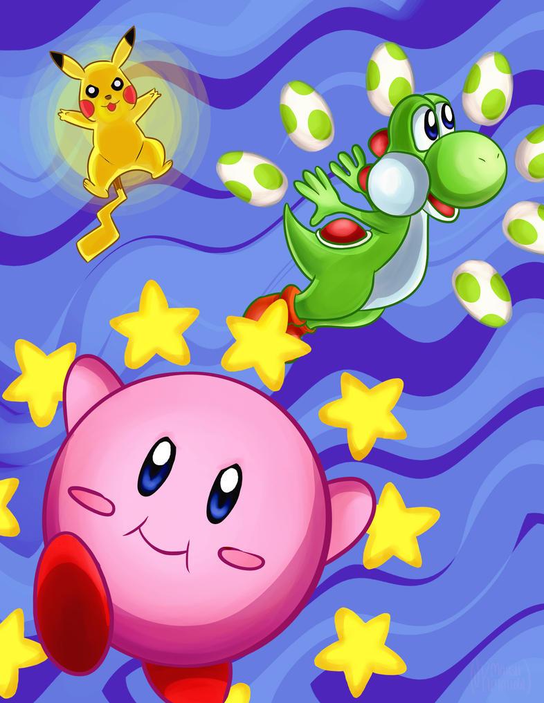 Super Smash Bros. Cute Edition by Fallen-Lunar-Shaman