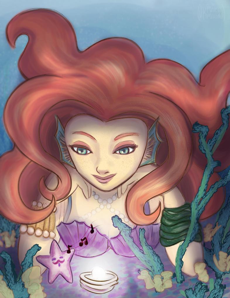 Mermaid Web by Fallen-Lunar-Shaman