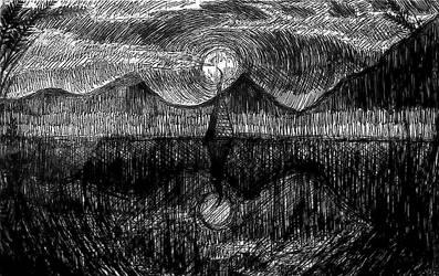 Sunken Steeple of the Mont Order, Scotland by sinister-order
