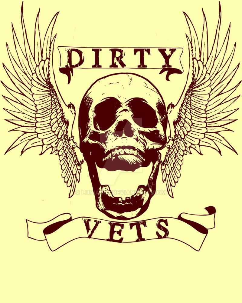 Dirty Vets Tshirt Design 2