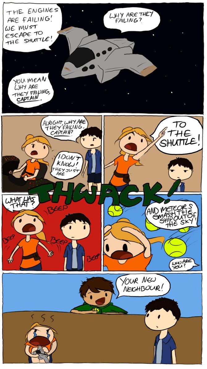 Adventure Of Space by LittleAngel1