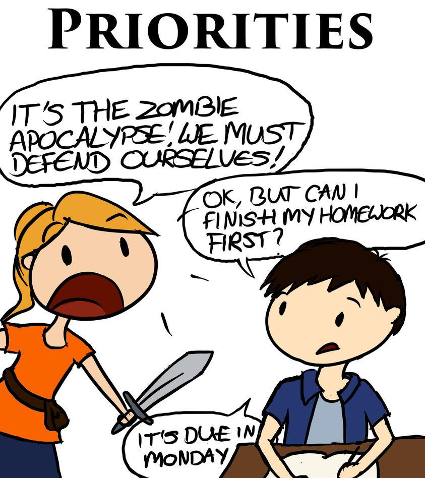 Priorities by LittleAngel1