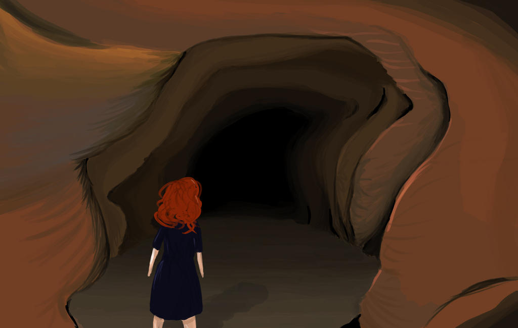 Into the Cave by LittleAngel1
