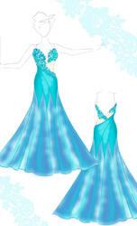Ballroom standard dress by Jivka