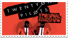 Twenty One Pilots: Emotional Roadshow Stamp by BlurryOtter