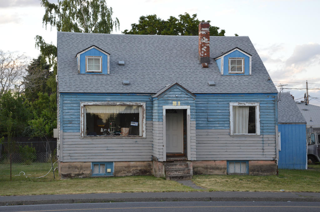 Wooden house of Oregon by A1Z2E3R
