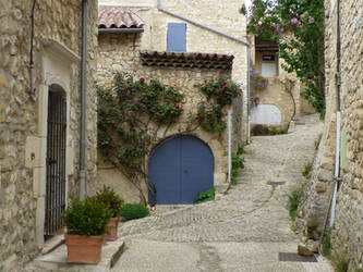 Medieval Mirmande Village by A1Z2E3R