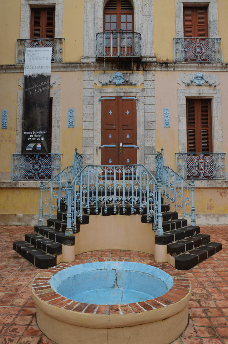 Entry of guadelupean house to old POINTE A PITRE by A1Z2E3R