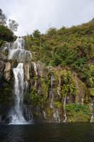 Waterfall of Cormoran in Reunion Island by A1Z2E3R