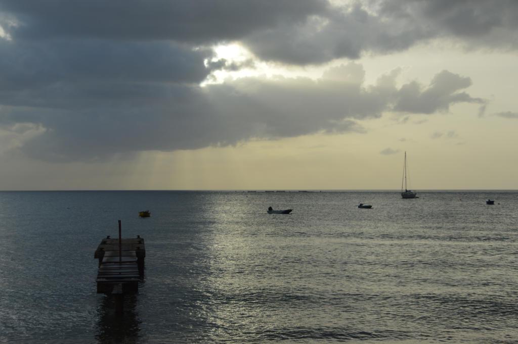 Pontoon and the Caribbean Sea by A1Z2E3R