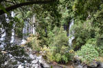 Resurgence of Grand Galet in Reunion Wild South
