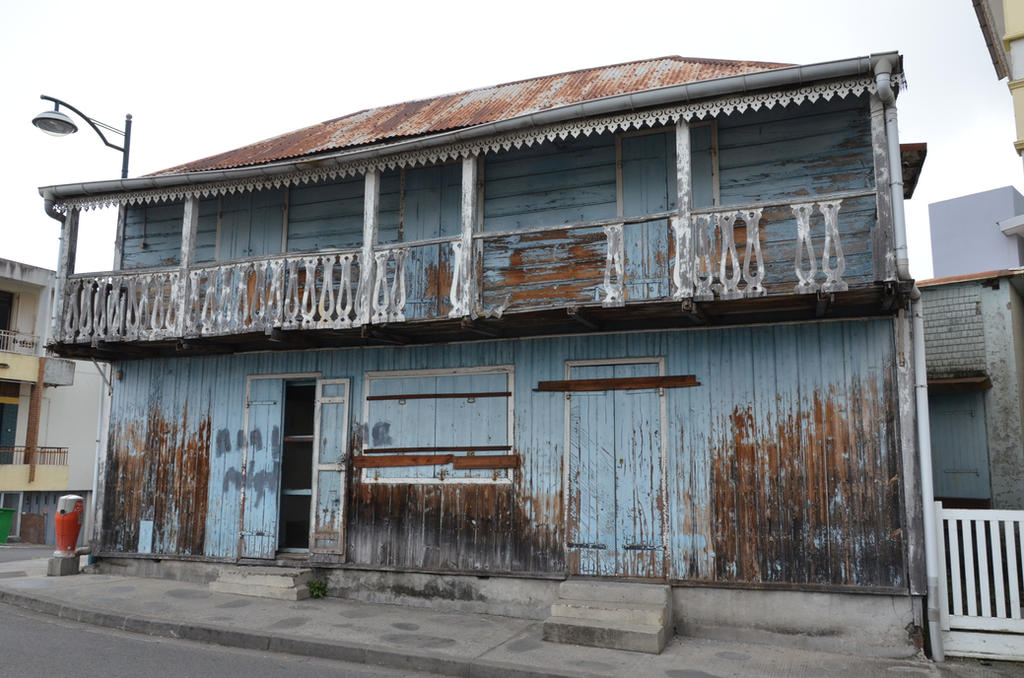 Old wooden house abandoned by A1Z2E3R