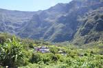 Bras Sec Village and Rampart of  Cilaos