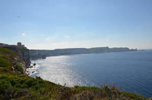 Bay of Bonifacio in Corsica Island by A1Z2E3R