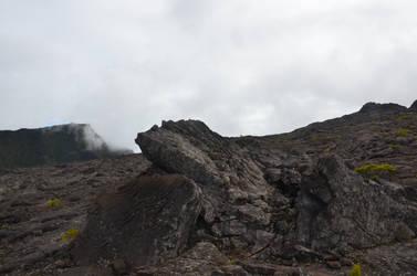 Lava rocks in Enclos FOUQUE