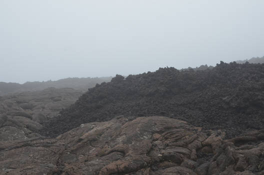 Different types of foggy Lava flows for Dark Art