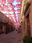 The umbrellas or Les Parapluies de Grasse