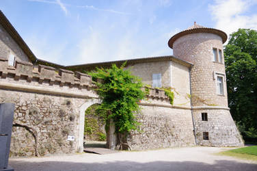Mouans-Sartoux Castel of XVth Century