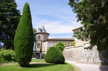 Mouans-Sartoux Castel of XVth Century and garden