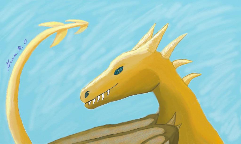 Lightning Dragon by Alnia