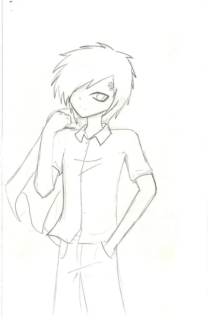 gaara coloring pages - photo#34