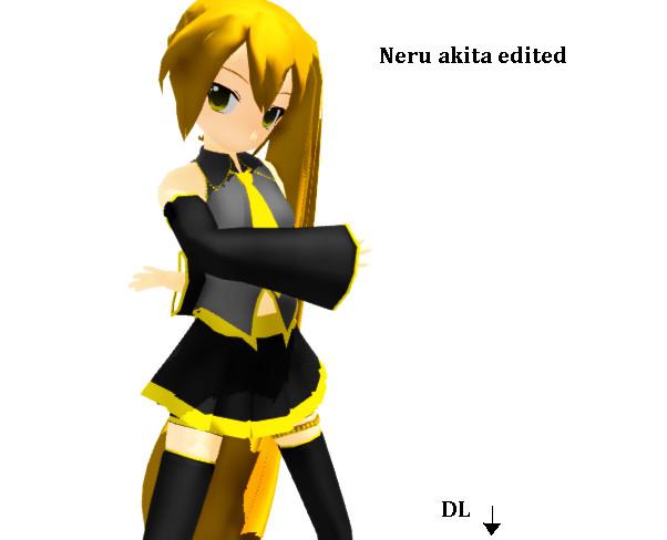 mmd dl neru akita - photo #3