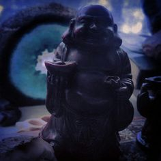 Blue Buddha by moondialing