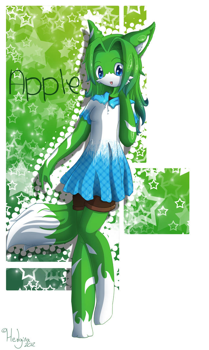 Apple by Hedgina
