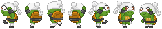 Dancing Venus Sprites by Kiss-the-Iconist