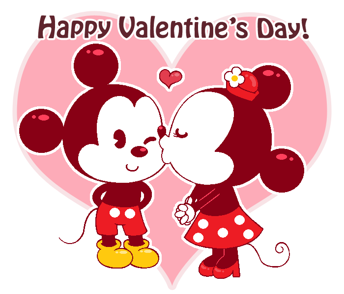 A Mickey and Minnie Valentine by Kiss-the-Iconist