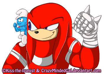 Hefty and Knuckles: The Muscle Duo! by Kiss-the-Iconist
