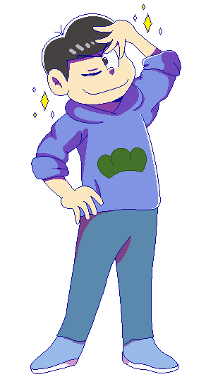 Painfully Gorgeous Karamatsu by Kiss-the-Iconist