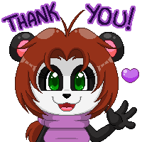 Panda Jenn: Thank You! by Kiss-the-Iconist