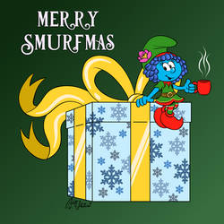 Merry Smurfmas! by Kiss-the-Iconist