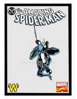 Marvel Comics Black Spider-man