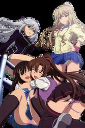 [Render] La Folia, Asagi, Sayaka and Himeragi
