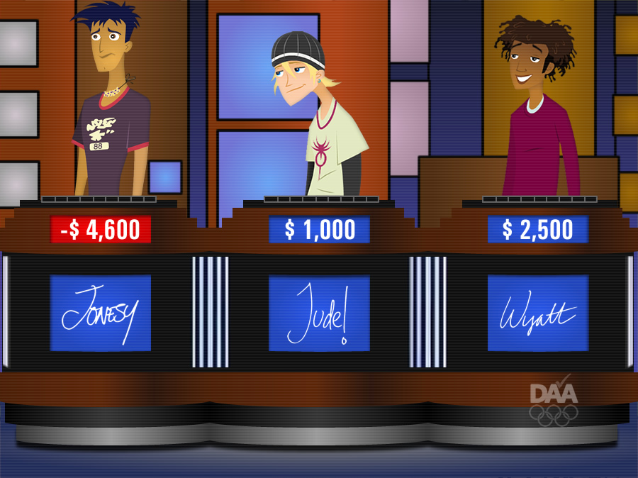 Cartoon Characters Jeopardy : Teen on jeopardy remake by daanton deviantart