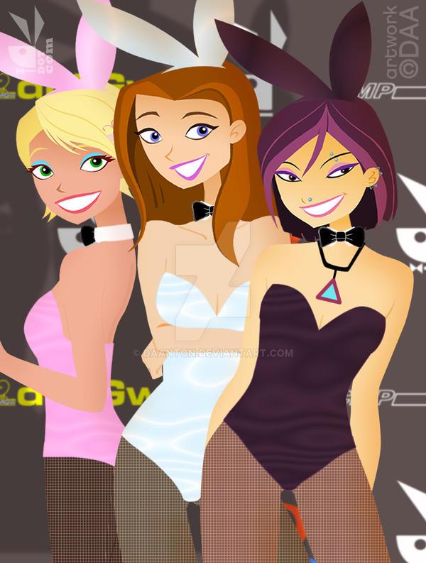 6TEEN GIRLS Playboy Bunnies by daanton