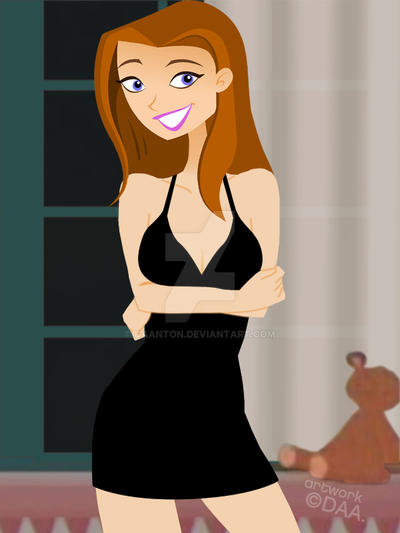 9f0608f18ce Little Black Dress Jen by daanton on DeviantArt