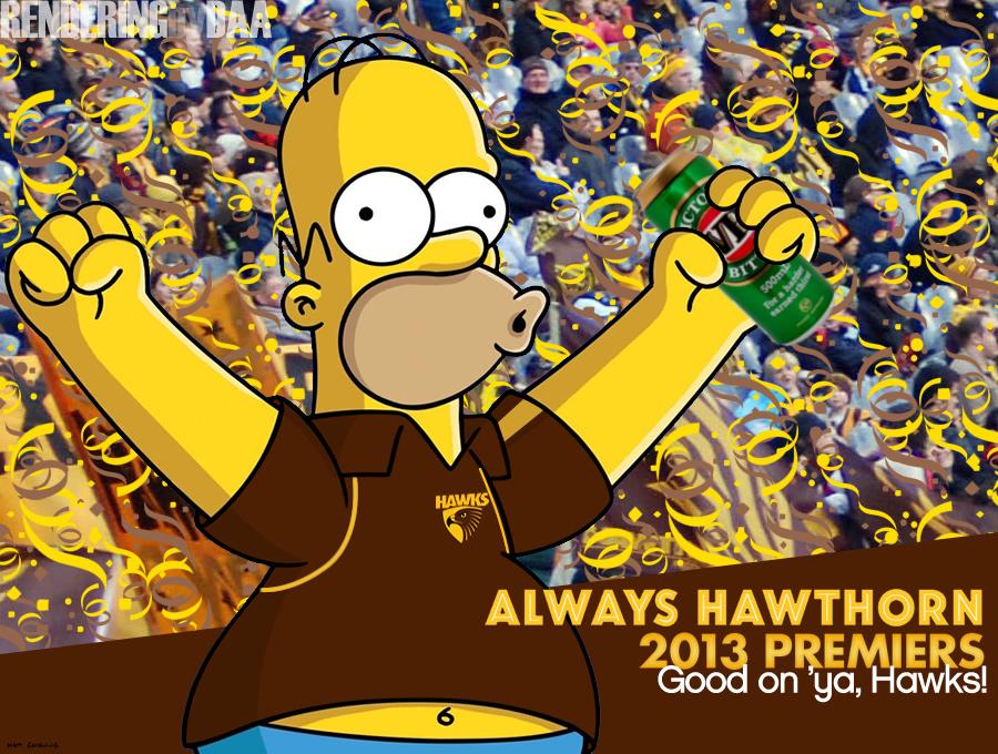 2013 AFL Premiership Champions! WOO HOO! by daanton
