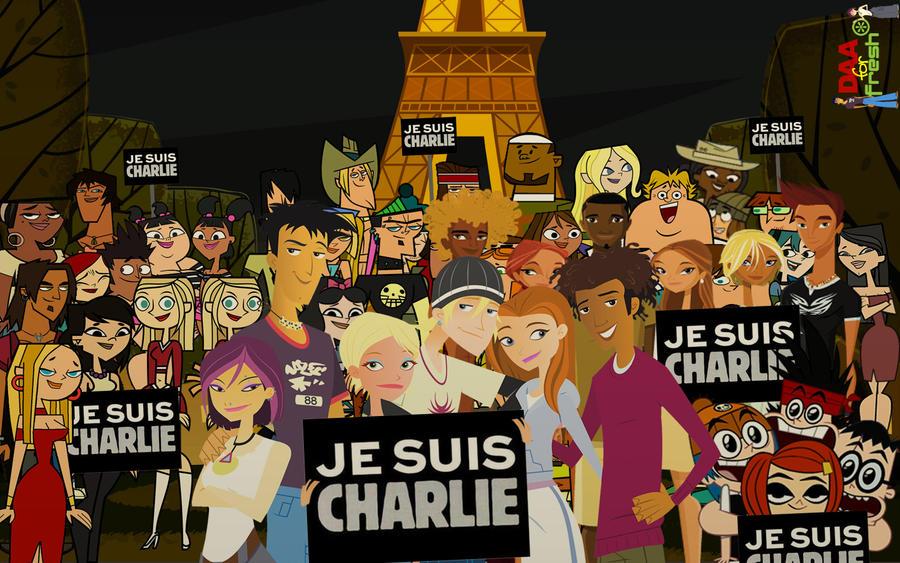 #JeSuisCharlie by daanton