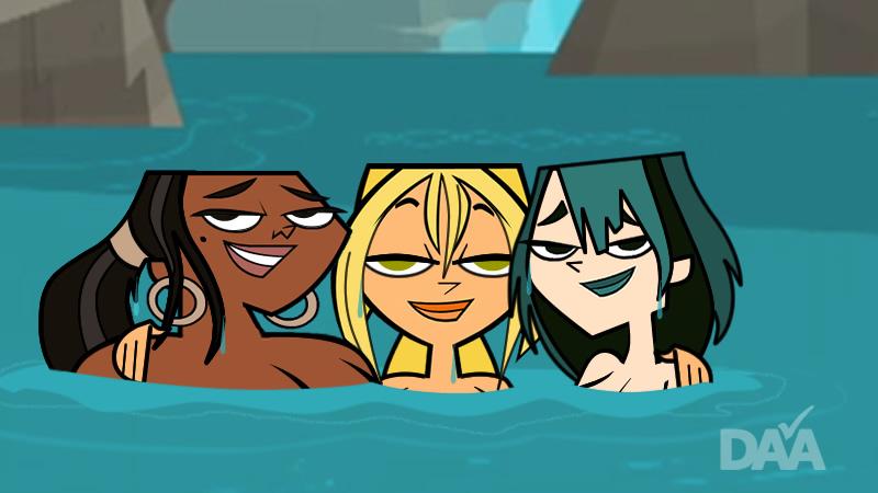 Tdi Sisterhood Skinny Dip Three Wet Girls By Daanton
