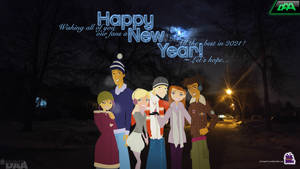 Happy New Year 2021 [~ Let's hope...]