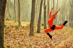 Ballerina in Autumn 1