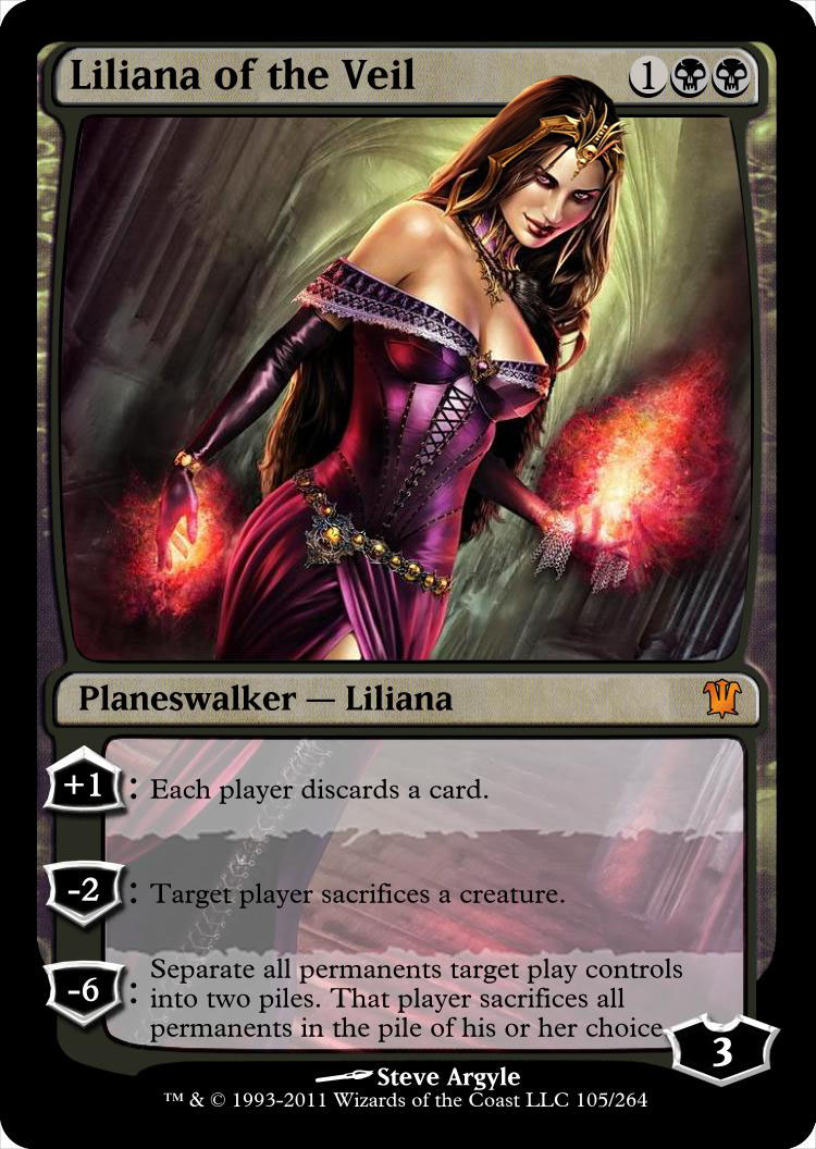 Liliana Of The Veil By Newphyrexia On Deviantart