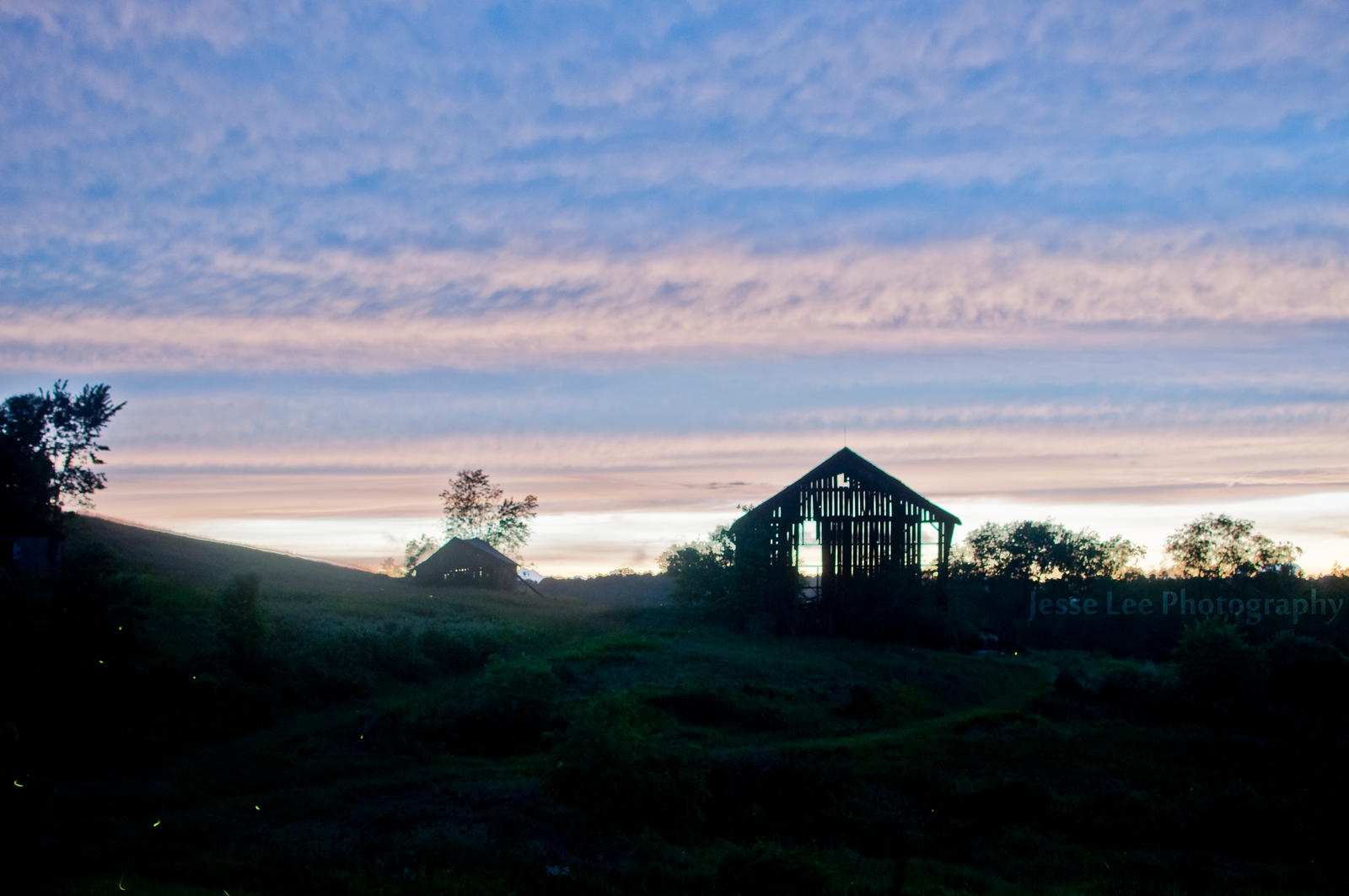 Lonely Barn At Sundown by JesseLeeTTW