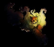 TigerFu digital practice by ZombieHun
