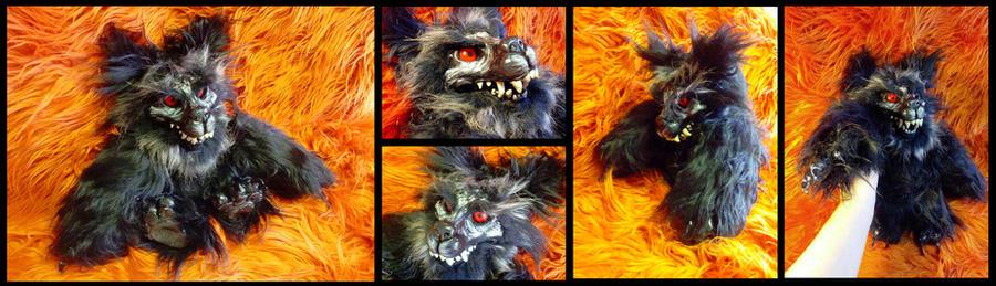 Werewolf OOAK more pics by ZombieHun
